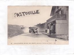 CPA: 14 X 9  -  40  CHALET-HOTEL DU COL DES ARAVIS.  -  Arrivée De L'Autobus De Flumet - Non Classés