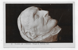 PARIS - N° 121 - MUSEE DE L' ARMEE - MASQUE DU MARECHAL FOCH - CPA NON VOYAGEE - 75 - Museums