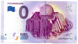 Billet Souvenir - 0 Euro - France - Futuroscope (2019-3) - EURO