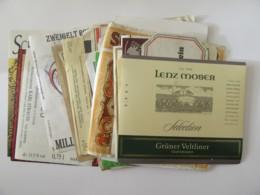 Autriche - Lot De Plus De 40 étiquettes De Vins / Alcools Autrichiens - 20e Et 21e Siècles - Colecciones & Series