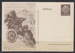 """Dt.Reich 1941 Tag Der Briefmarke Ganzsache MiNo. P 242/02 ** """"Gebirgsjäger/Heeresbergführer"""" - Deutschland"""