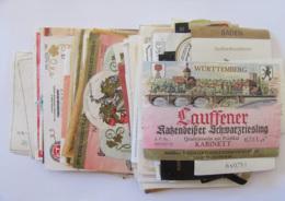 Allemagne - Lot De Plus De 100 étiquettes De Vins Allemands - Colecciones & Series
