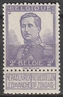 Belgie    .    OBP   .    117       .      **       .   Postfris    .  / .  Neuf Sans  Charniere - 1912 Pellens