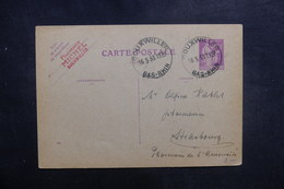 FRANCE - Entier Postal Type Paix De Bouxwiller Pour Strasbourg En 1933 - L 39444 - Postal Stamped Stationery