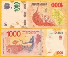Argentina 1000 Pesos P-366 2017 (Series B) UNC Banknote - Argentinien