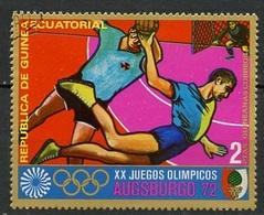 Guinée Equatoriale - Guinea 1972 Y&T N°19-2p - Michel N°(?) (o) - 1p JO Munich-Augsburg 1972 - Guinée Equatoriale