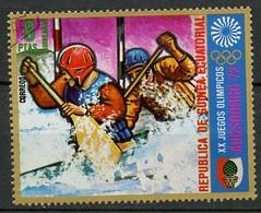 Guinée Equatoriale - Guinea 1972 Y&T N°19-8p - Michel N°(?) (o) - 1p JO Munich-Augsburg 1972 - Guinée Equatoriale