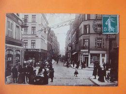 Cpa  Boulogne Sur Mer 62 Commerces Animée - Boulogne Sur Mer