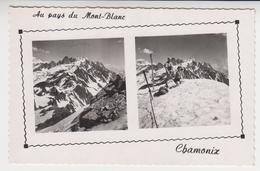 CC 120  /   CHAMONIX   , Au Pays Du Mont-Blanc - Chamonix-Mont-Blanc