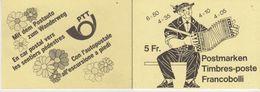 Switzerland 1984 Booklet ** Mnh (44217) - Postzegelboekjes