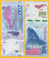 Argentina 200 Pesos P-364 2016 (Series F) UNC Banknote - Argentinien