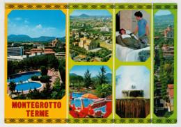 TERME  EUGANEE   MONTEGROTTO  TERME (PD)   STAZIONE  INTERNAZIONALE  DI CURA E  SOGGIORNO        (VIAGGIATA) - Italia