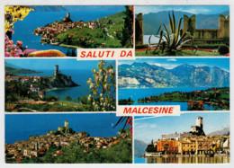 MALCESINE  (VR)    LAGO  DI  GARDA           (VIAGGIATA) - Italia