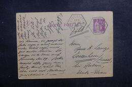 FRANCE - Entier Postal Type Paix De Geudertheim Pour Dossenheim-sur-Zinsel En 1933 - L 39445 - Postal Stamped Stationery
