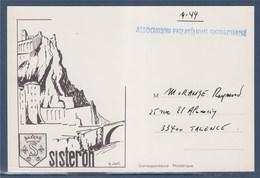 = Association Philatélique Sisteronaise, Imprimerie Sisteron - Beursen Voor Verzamellars