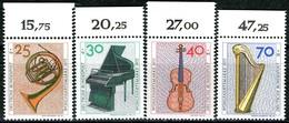 BRD - Mi 782 / 785 Oberrand - ** Postfrisch (E) - Musikinstrumente, Wohlfahrt 73 - [7] República Federal