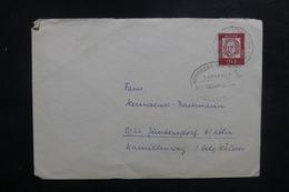 ALLEMAGNE - Oblitération Ambulant Sur Enveloppe Pour Junbersdorf En 1962 - L 39446 - Briefe U. Dokumente