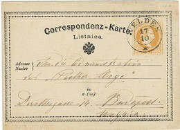 "1876, "" VELDES "" , Krain , A2314 - 1850-1918 Empire"