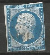 FRANCE - Oblitération Petits Chiffres LP 1948 LES MEES (Basses-Alpes) - 1849-1876: Période Classique