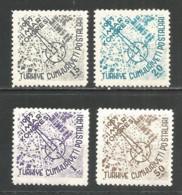 Turkey 1955 Year  Mint MNH (**) Set - 1921-... Republik