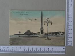 BRAZIL - OBLISCO -  RIO DE JANEIRO -   2 SCANS    - (Nº30346) - Rio De Janeiro