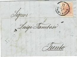 """1857, """" ROVEREDO """" Tirol , A2317 - Briefe U. Dokumente"""