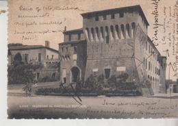 LUGO DI ROMAGNA RAVENNA CASTELLO ESTENSE  INGRESSO 1947 - Ravenna