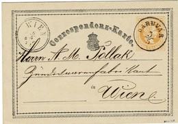 """1871, """" DARUVAR """" , GA Ungar. Wappen , A2318 - Briefe U. Dokumente"""
