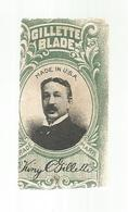 Lame De Rasoir ,  GILLETTE BLADE ,  Made In U.S.A. ,  2 Scans - Lames De Rasoir