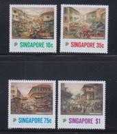 Singapore 1989 Art Series, Painting Of Chinatown MNH - Singapore (1959-...)