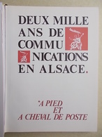 DEUX MILLE ANS DE COMMUNICATIONS - Filatelia E Storia Postale