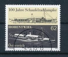 ÖSTERREICH Mi.Nr. 3068 100 Jahre Schaufelraddampfer Hohentwiel - Used - 1945-.... 2. Republik