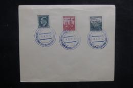 TCHÉCOSLOVAQUIE - Enveloppe FDC En 1937 - B.I.T.- L 39464 - FDC