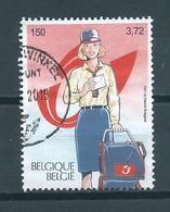 2001 Belgium 500 Year European Post Used/gebruikt/oblitere...SEE SCAN FOR PERFORATION - België