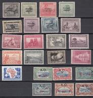 Ruanda - Urundi: Collection MH (zie Scan) Nr 61 - Ruanda-Urundi