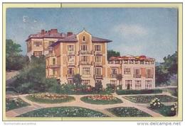 OPATIJA Abbazia Hotel Wurs  Cp 1934 Croazia Croatia Cpa X Ostia - Croazia