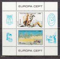 Cyprus Turkey MNH Michel Nr Block 5 From 1986 CEPT / Catw 14.00 EUR - Cyprus (Turkije)