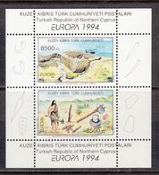 Cyprus Turkey MNH Michel Nr Block 13 From 1994 CEPT / Catw 7.00 EUR - Cyprus (Turkije)
