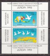 Cyprus Turkey MNH Michel Nr Block 14 From 1995 CEPT / Catw 5.00 EUR - Cyprus (Turkije)