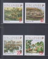 Singapore 1992 Art Series-Local Artists MNH - Singapore (1959-...)