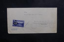 ROUMANIE - Enveloppe Pour Zürich En 1949, Affranchissement Et Oblitération Plaisants - L 39469 - Cartas