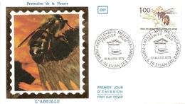 France FDC Abeille Ruche - FDC