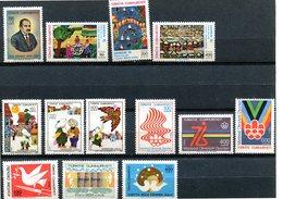 Turquie - 1976 - Lot Timbres ** - Nºs Dans Description ** - 1921-... Republik