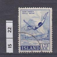 ISLANDA     1957Sport, 1,75 Usato - Usati
