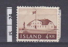 ISLANDA     1958Palazzo Del Governo  4bkr Usato - 1944-... Repubblica