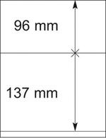 Lindner Blankoblätter 802209 (1VE) 10 Blätter Neuware ( - Albums & Reliures