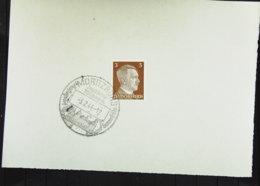 """DR: Auf Blatt 3 Pf Adolf Hitler Mit SoSt. """"MORITZBURG Jagdschloß Wildpark Ausflugsort Sommerfrische"""" Vom 3.2.44 Knr: 782 - Briefe U. Dokumente"""