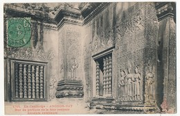 CPA - CAMBODGE - ANGKOR-VAT - Mur Du Portique De La Tour Centrale - Enceinte Extérieure - Cambodge