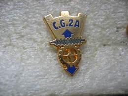 Pin's CG2A, Ancienne Filiale De La Compagnie Générale Des Eaux - Non Classés