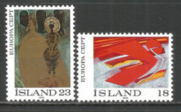 Iceland 1975 Mint Stamps MNH(**)  Set Europa Cept - 1944-... Repubblica